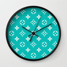 Supreme LV Tiffany Wall Clock