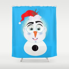 Lolo AlfsToys wants to become in Olaf Shower Curtain