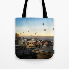 Cappadocian Hot Air Balloons 2 Tote Bag