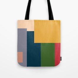Me and the Boys In abstract style Tote Bag