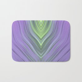 stripes wave pattern 3 cl Bath Mat