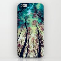 nordic iPhone & iPod Skins featuring NORDIC LIGHTS by RIZA PEKER