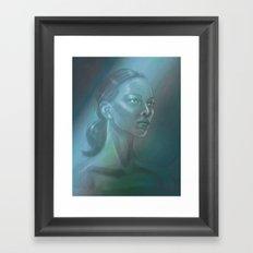 Aurora Borealis Framed Art Print