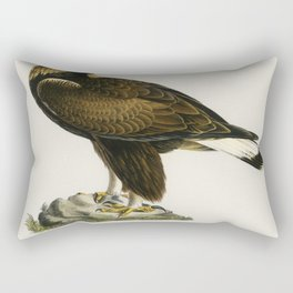 Golden Eagle (Aquila chrysaetos) illustrated by the von Wright brothers Rectangular Pillow