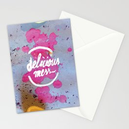 Delicious Mess Stationery Cards