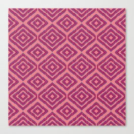 Sumatra in Pink Canvas Print