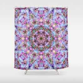 Astrid - Psychedelic Kaleidoscopic Design Shower Curtain