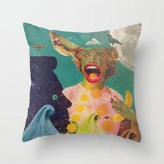 OMGAKAWTF! Throw Pillow