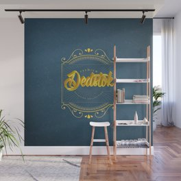 Dedstok Label Wall Mural