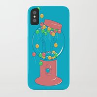 gumball iPhone & iPod Cases featuring Balloon, Gumball by Ava Guerrero