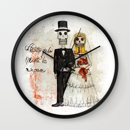 Brooms Wall Clock