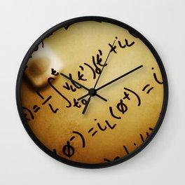 Reflecting on Final Exams Wall Clock