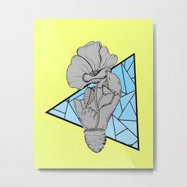 Fragmented Flower  Metal Print