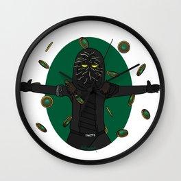 Make it rain guardians Wall Clock