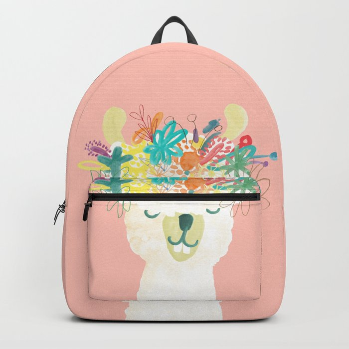 Llama Goddess Backpack