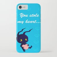 kingdom hearts iPhone & iPod Cases featuring Kingdom Hearts - Heartless by UncannyViolet