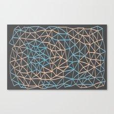 Non-linear Points Canvas Print