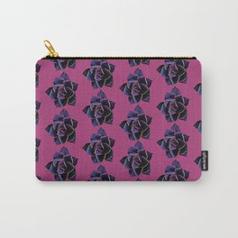 Pink Succulent (small print) Carry-All Pouch