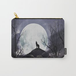 howling under the moon Carry-All Pouch