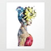 Agua de Colores Art Print