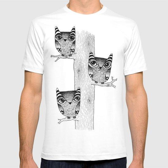 Owls (blue) T-shirt