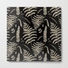 Fern Pattern 2 Metal Print
