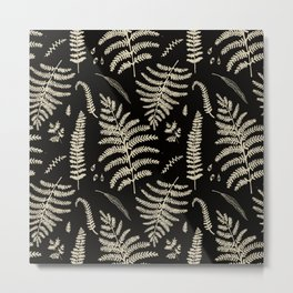 Fern Pattern 2 Metal Print