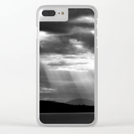 Light Breaking Through Clear iPhone Case