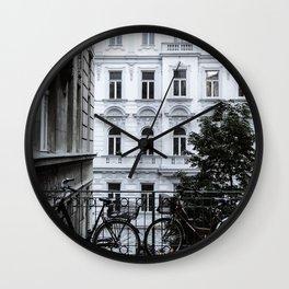 Streets of Vienna Wall Clock