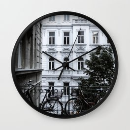 Streets of Vienna Wall Clock