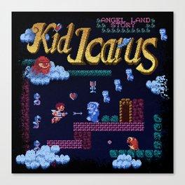 Icarus Kid Canvas Print