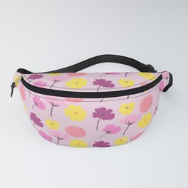 Pressed Flowers Fanny Pack