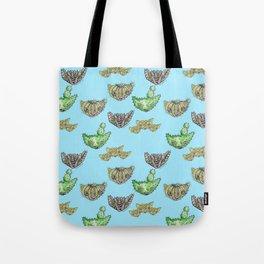 """""""Oro?"""" Cactus Blue Tote Bag"""