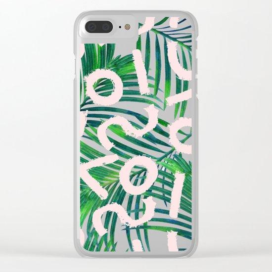 Palm Blabber #society6 #decor #buyart Clear iPhone Case