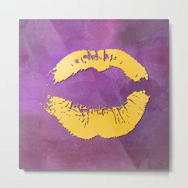 Watercolor kiss 5 Metal Print