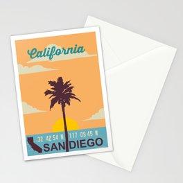 San Diego. Stationery Cards