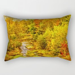 Autumn On The Ammonoosuc Rectangular Pillow