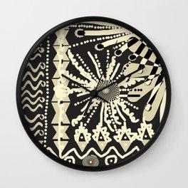 AFRICAN GARDEN TTY N4 Wall Clock