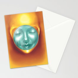 Outterspace Meditation Stationery Cards