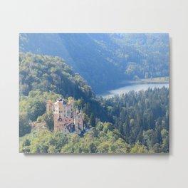Schlöss Hohenschwangau Metal Print
