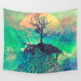 Sunshine and Tranquility Wall Tapestry
