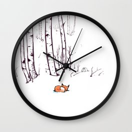 grow cold now Wall Clock