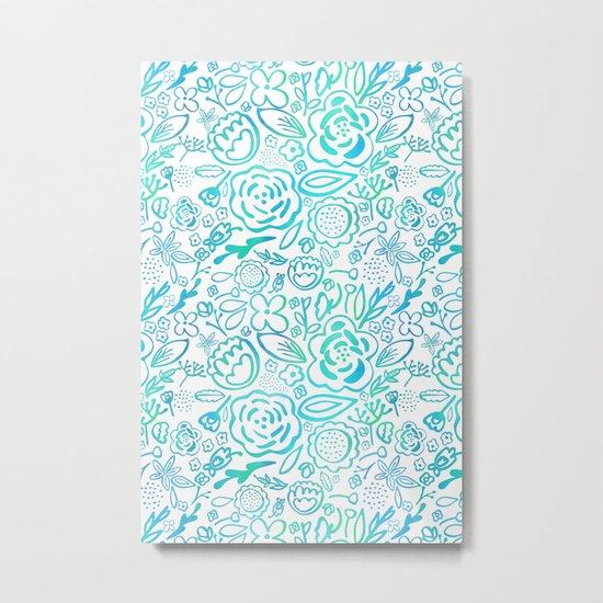 A Profusion of Flowers II Metal Print
