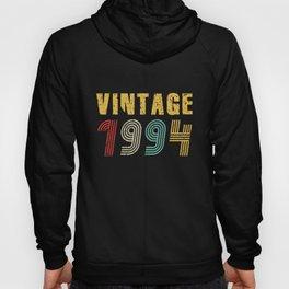 27th Birthday Gift Idea Vintage 1994 Men Women Hoody