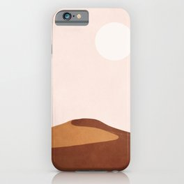 A Lonely Dune iPhone Case