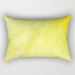 Abstract Yellow Sun by Robert S. Lee Rectangular Pillow