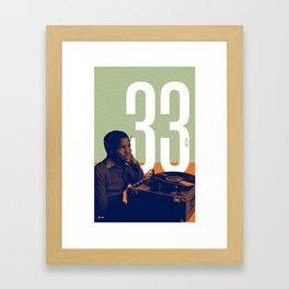 Vinyl Dreams Framed Art Print