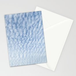 Cirrocumulus Clouds 3 Stationery Cards