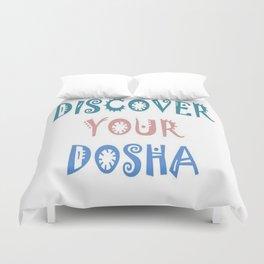 Discover Your Dosha Duvet Cover