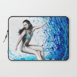 Thoughts and Waves Laptop Sleeve